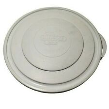 Pampered Chef Plastic Lid White 10 Inch For Colander Mixing Bowl 2798 EUC