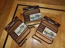 Pack of 8 bronze wire shelf dividers, closet organizer for clothing storage lot