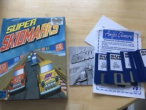 Super Skidmarks Amiga Game! Look In The Shop!