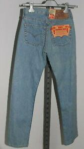 Neu Damen Original Levis 501 Jeans W26 L32 Denim Sale Sonderaktion Lagerverkauf