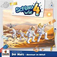 SCHLAU WIE VIER - 004/DER MARS: ABENTEUER IM WELTALL   CD NEW