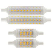 LED R7s Flood Light 78MM & 118MM Security Bulbs Replace Tungsten Halogen 2 PACK