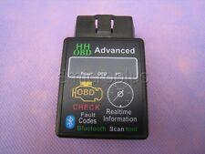HH Advanced Car ELM327 OBD2 OBDII Bluetooth Diagnostic Auto Scanner Adapter CAN