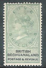 Bechuanaland 1888 green/black 5/- mint  SG18