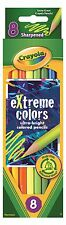 Crayola eXtreme Coloured Pencils - 8 pack