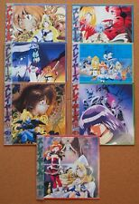 SLAYERS TRY 7 discs set LD Laser Disc VOL.1 ~ 7 LINA Japanese Anime JAPAN