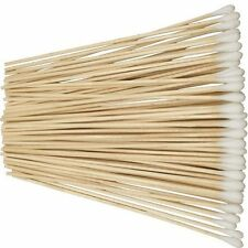"Pack of 500 6"" Cotton Tipped Applicator Swabs Wood Shaft Non Sterile US SHIPPER"