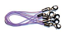 5 Bänder/Band - lila - für Anhänger: Charm/Schmuck/Handy/USB-Stick/etc. *neu*