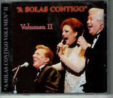 A Solas Contigo Vol 2  Luis Garcia,Malena,Meme Solis  BRAND  NEW SEALED CD