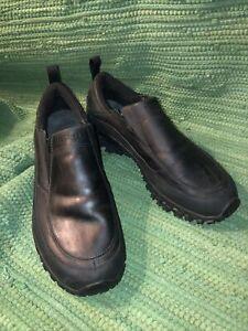Merrell Mens 12  Shiver Moc 2 Waterproof Slip On Hiking Shoes Black J39575