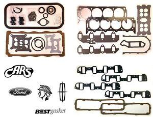 1958-1968 Ford Lincoln & Mercury 383 410 430 462 MEL | Full Engine Gasket Set