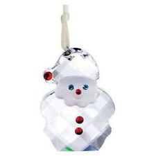 Rare Retired Swarovski Crystal Christmas Santa Claus Ornament #5103223 NIB