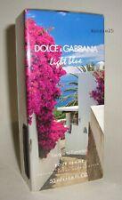 DOLCE & GABBANA LIGHT BLUE FEMME ESCAPE TO PANAREA EDT 1.6 oz SPRAY 50ml D&G