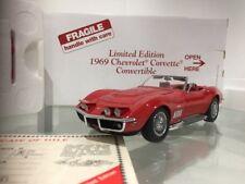 Franklin: Danbury Comme neuf 1:24 1969 CHEVROLET CORVETTE Cabriolet Limited Edition