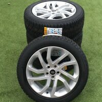 """GENUINE LAND ROVER DISCOVERY 4/3 5 511 20"""" INCH SILVER HSE ALLOYS WHEELS+TYRES"""