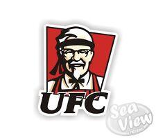 Ufc Coche Camioneta Adhesivo Calcomanía divertido logotipo adhesivos remake KFC Kentucky Fried Chicken