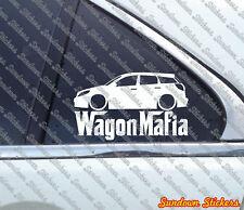 Lowered WAGON MAFIA sticker - for Toyota Toyota Matrix (E130, 2003-2008)