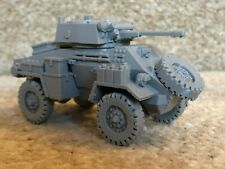 World War Two WWII WW2 Humber Armoured Car MK II 28mm 1:56 scale