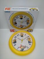 Despicable Me Wall Clock With Minion Sound Effects - (BNIB)