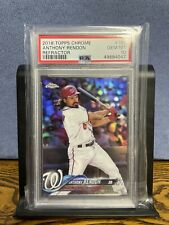 2018 Topps Chrome Refractor Anthony Rendon psa 10 - Nationals / Angels