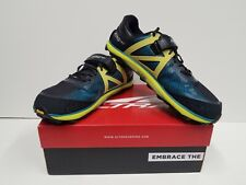 ALTRA KING MT 2 Men's TRAIL Running Shoes Size 12.5 NEW (Teal/Lime)