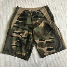 Quicksilver Boys 24 Surf shorts Camo Board Shorts Green Camouflage Swim Trunks