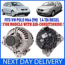 VW VOLKSWAGEN Polo 1.4 TDI 9N 2001-2009 DIESEL NEW ALTERNATOR (WITH AIR-CON)