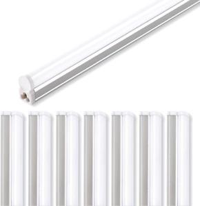 8 Pack Utility Shop Ceiling Light Under Cabinet LED T5 Integrated Single 4 Ft.