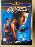 The World is Not Enough DVD 1999 James Bond 007 Special Edition Pierce Brosnan