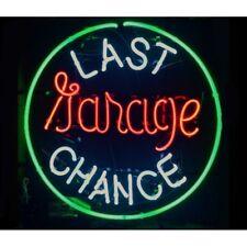 "New Last Chance Garage Neon Light Sign 24""x20"""