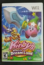 KIRBY'S RETURN TO DREAM LAND FOR NINTENDO WII 2011 EVERYONE 10+