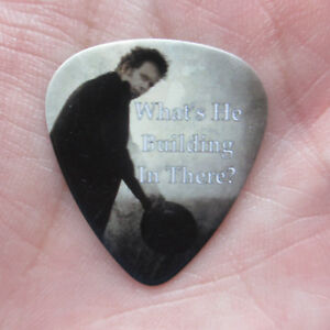 TOM WAITS Collectors Guitar Pick 'What's He Building?' Odd Mule Variations Song