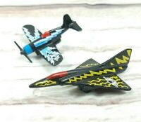 Vintage 1988 Matchbox Ring Raiders Skull Squadron Micro Machine Toy Airplane