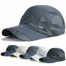 Up Sport Men Women Mesh Hat Running Visor Quick-drying Cap Summer Outdoor CHI
