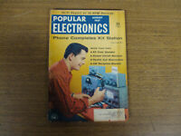 POPULAR ELECTRONICS MAGAZINE AUGUST 1957 HI-FI REPORT $5 COAX SPEAKER PENLITE