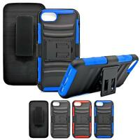Heavy Duty Combo Armor Case Shockproof Belt Clip Kickstand Cover For IPhone 7