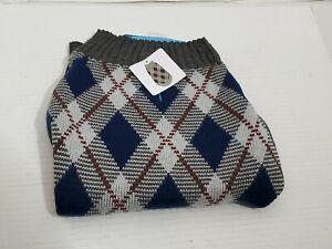 Dog Sweater Vibrant Life Beagle Poodle Medium Size 20-50 Pounds Buttons Male