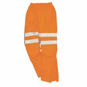 sUw - Hi-Vis Safety Workwear Breathable Rail Track Side Trousers