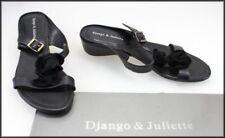 Kitten Heel Leather Strappy Medium Width (B, M) Heels for Women