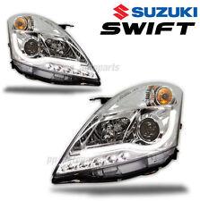HEAD LIGHT PROJECTOR CCFL LINE WHITE CLEAR LEN SONAR FOR SUZUKI SWIFT 2010-15