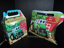 John Deere Gift Boxes Set of 2 Cardboard Treat Boxes Collectible