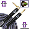 "Analysis Plus ""Pro Oval Studio"" 20ft Instrument Cable - Straight/Angle"