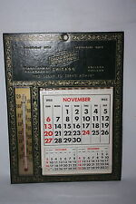 VINTAGE ADVERTISING THERMOMETER GRAND RAPIDS MOTOR EXPRESS FROM 11/55 TO 12/60