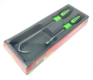 Snap On 2 Piece Radiator Hose Pick Set - Green - SGA102BG - New