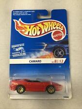 Hot Wheels 1995 Model Series Camaro International Card