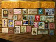 Worldwide Poster Stamp Lot Cinderella Collection Page Group