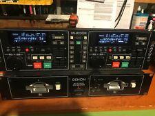 Denon DN-M2300R DJ Dual MiniDisc Controller / Recorder / Duplicator