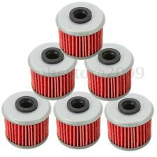 6Pcs Engine Oil Filter Cleaner Kit For Honda TRX450R CRF250X CRF450X CRF250R New