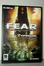 FEAR FIRST ENCOUNTER ASSAULT RECON USATO PC DVD VERSIONE ITALIANA SC2 40322
