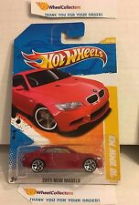 '10 BMW M3 #26 * RED * NEW MODELS 2011 Hot Wheels * W60